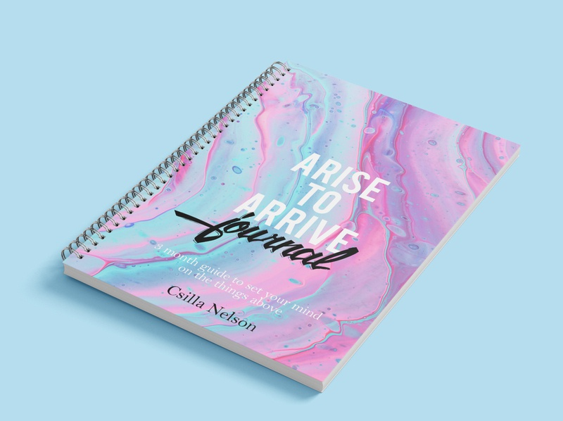 Arise to arrive journal Cover
