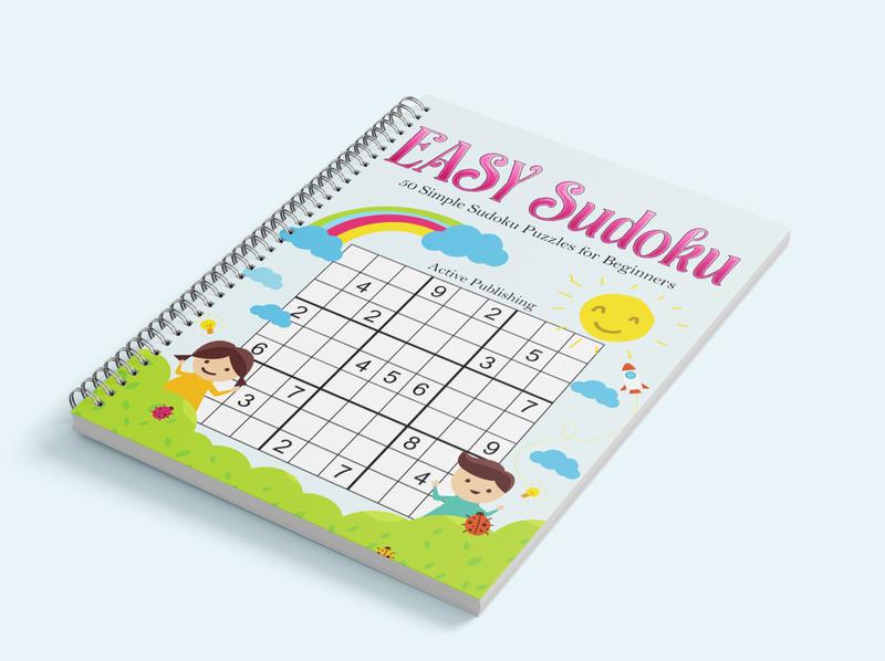 EASY Sudoku Kids book cover
