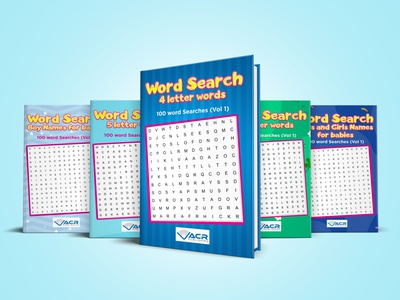 Word Search series Covers diet killer kill war vector flat depression illustration design cover design cover book