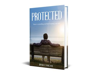 Protected Book cover diet killer kill war vector flat depression illustration design cover design cover book