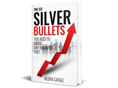 The Six Silver Bullets You Need to Grow Any Business Fast diet killer kill war vector flat depression illustration design cover design cover book