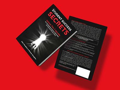 Student Success Secrets Book cover diet killer kill war vector flat depression illustration design cover design cover book