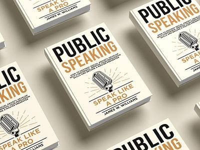 Public speaking Book cover diet killer kill war flat vector depression illustration design cover design cover book