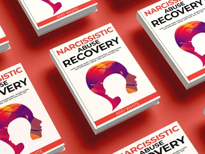 Narcissistic Abuse Recovery book cover diet killer kill war flat vector depression illustration design cover design cover book