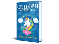 Unicorn Coloring Book For Kids Ages 4 8 book cover