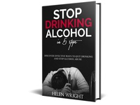 Stop Drinking Alcohol in 5 Steps Cover