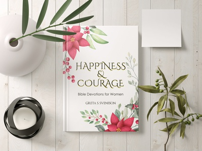 Happiness   Courage Bible Devotions for Women Cover