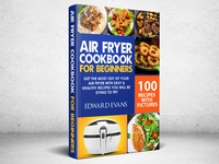 Air Fryer Cookbook for Beginners cover