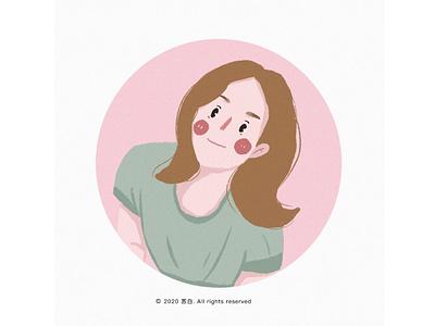 girl 11 design  draw ui illustration art banner design design illustration
