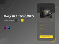 Daily UI Challenge Task 017