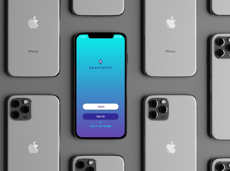 App design minimal app ux ui logo vector design
