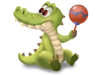 Casual alligator