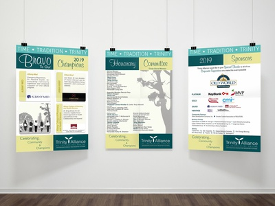 Trinity Gala 2019 Posters