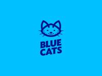 Bluecats Soccer Logo