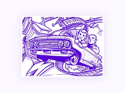 Style dev-0 drawingart draft poster illustration greenbook