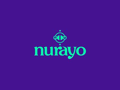 Nurayo branding design apparel lettering typography logo koma