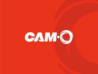 Cam-O branding logo design koma