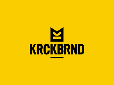 KRCKBRND drstr krckbrnd branding design apparel icon lettering typography logo