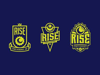 Rise Badges badge tennis rise sports icon koma studio koma
