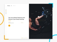 Fitness web web cover
