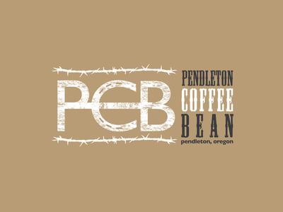 Pendleton Coffee Bean Logo