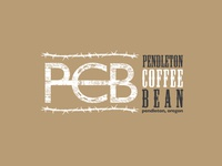 Pendleton Coffee Bean Logo