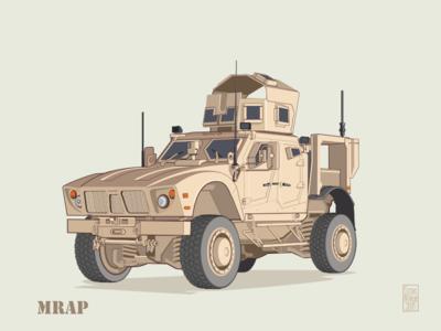 off-road vehicle - MRAP