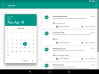 Daily UI Day 038 - Calendar
