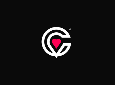 CV + heart ilustración illustrator illustration identity icono icon diseño design clean branding art