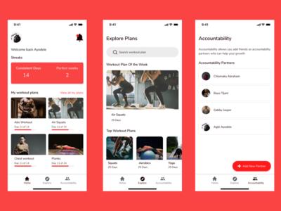 Work-it Conept app