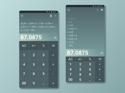 004  Calculator grocery store supermarket list view pricing list shopping ux ui calculator mobile figma dailyuichallenge daily ui dailyui