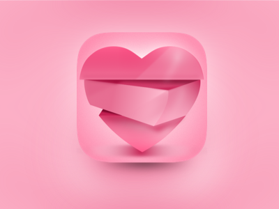 Love Shakes icon ios iphone sketch illustration design drawing apple love shakes heart