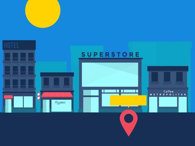Project Shop ui mobile iphone ios illustration flat application app