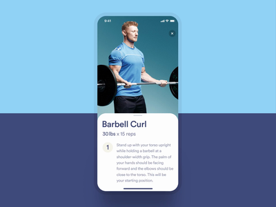 AI Chatbot for Personal Training - Interaction Prototype animation minimal workout interface principle prototype purple fitness clean bot chatbot ux ui app mobile ios