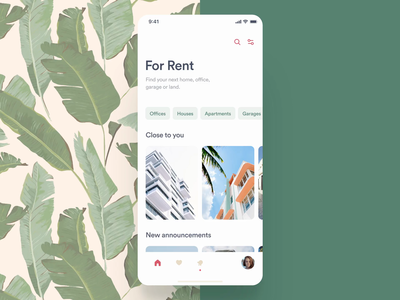 Interactive Real Estate: Apartment 360 - Concept Prototype real estate animation green ui ux clean app mobile ios 360 degree 360 ar vr principle protoype