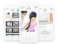 Printbox Photo book editor app for iOS