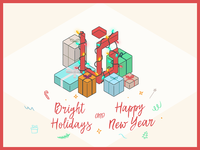 Bright Holidays by UIG Studio