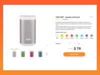 Product Page for VIVITAR e-Commerce