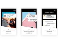 PBX Mobile App Onboarding screens Part II