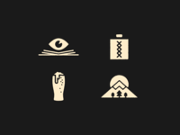 Flask Iconography
