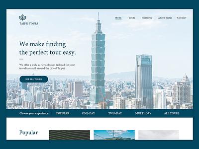 Daily UI 3/100 - Landing Page ui design dailyui