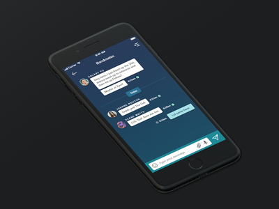 Daily UI 13/100 - Direct Messages ui design dailyui