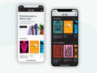 Tinta da China Website Redesign II