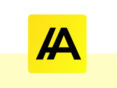 A Letter logo concept