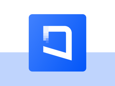 O Letter logo concept