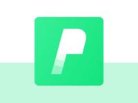 P Letter logo concept