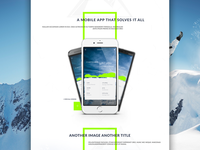 Boarded Landing Page