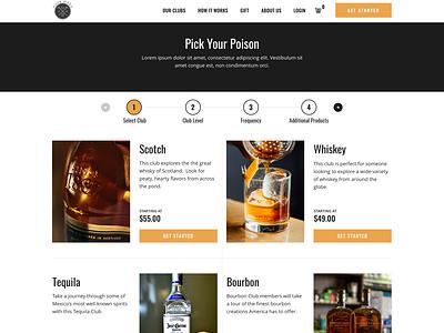 Pour More website design web design shopify web ux website ui design