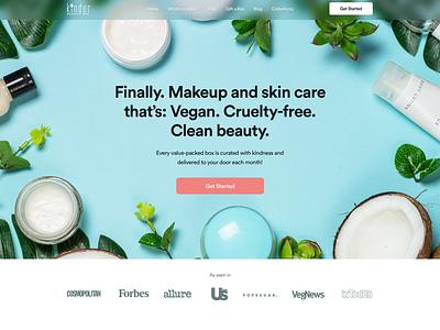 Kinder Beauty Concept website design concept web design shopify store shopify website web ui ux design