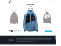 Hs apparel product page